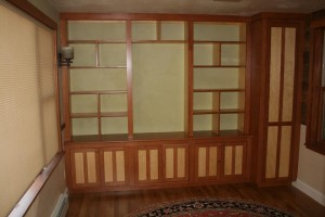 Native Vermont White Pine bookcase